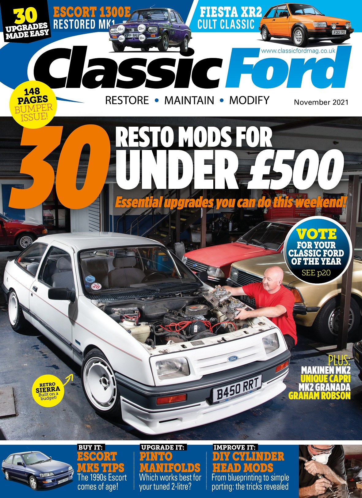 Classic Ford 3 for £5